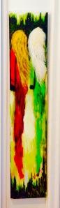 Parallèle Acrylique mixte 40x12 200$