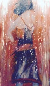 Figure de style no 2 Acrylique 24x40 200$